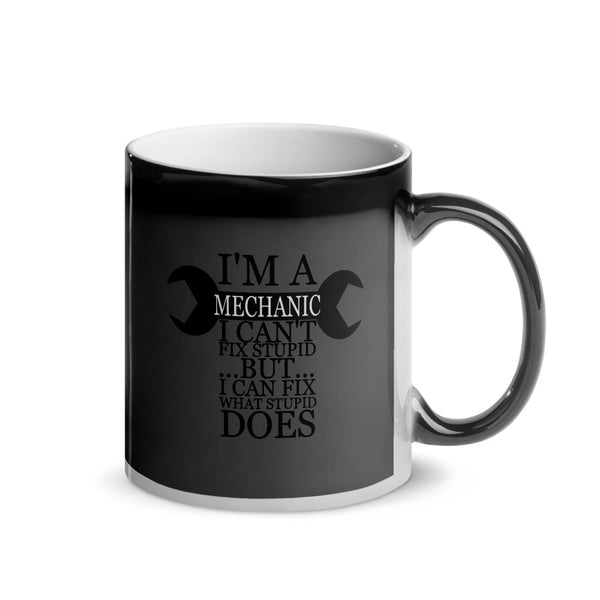 I'm a Mechanic Glossy Magic - Left Hand Mug