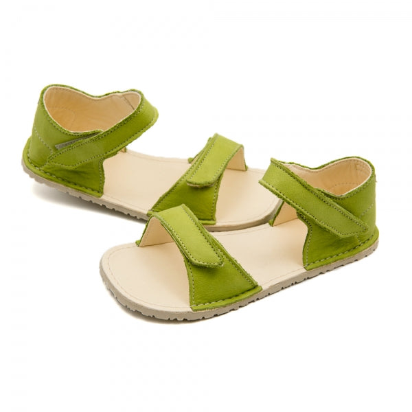 ARIEL Green in Vegetable Tanned Leather