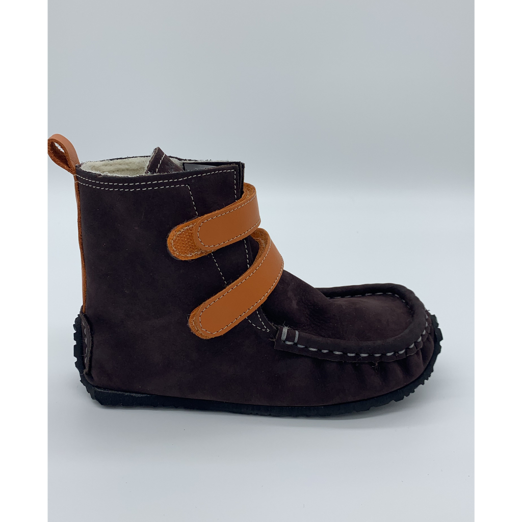 YETI Brown-Orange with Waterproof leather, Wool Lining, Barefoot Max