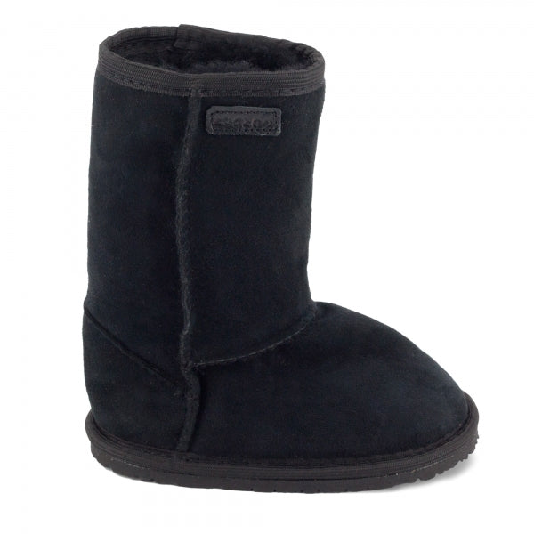 DINGO Black - Tall, Sheepskin Leather, Barefoot Max