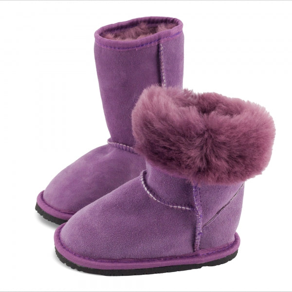 DINGO Purple - Tall, Sheepskin Leather, Barefoot Max