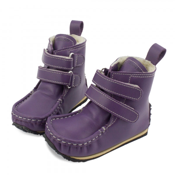 YETI Purple with Waterproof leather, Wool Lining, Barefoot Max