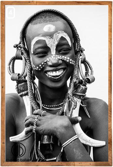 African Portraits Timber Frame Photography
