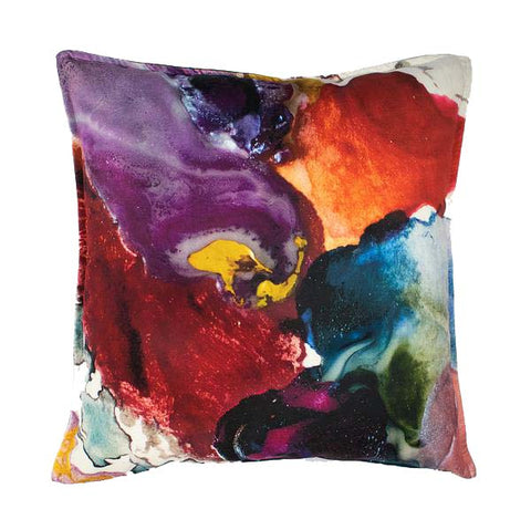 Anastasia Pather Pansy Pearl Velvet Scatter Cushion