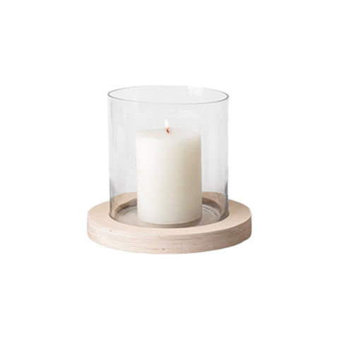 Plywood Hurricane Candle Holder