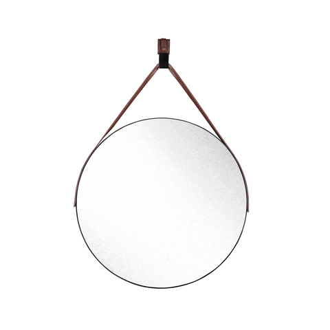 Large Hanging Round Mirror