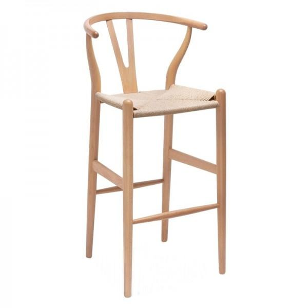 Replica Hans Wegner - Wishbone Bar Stool - Esque