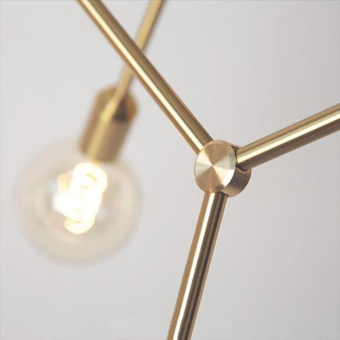 Molecule Light Brass - Esque
