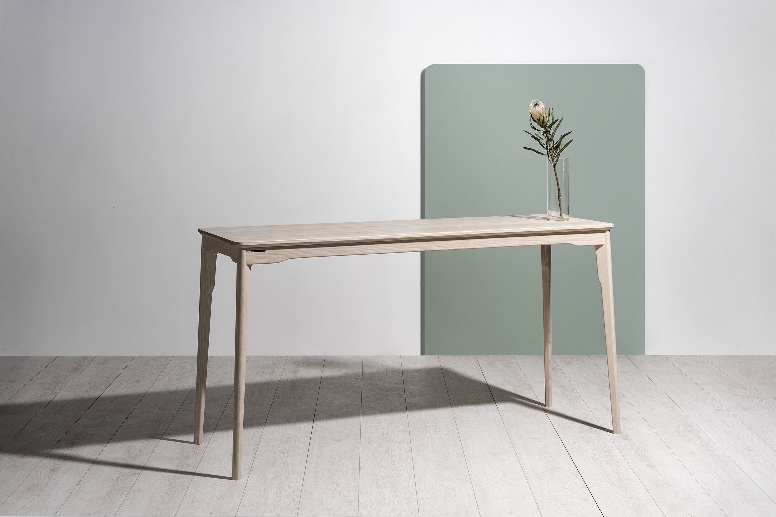 Klip Console Table Timber Top - Esque