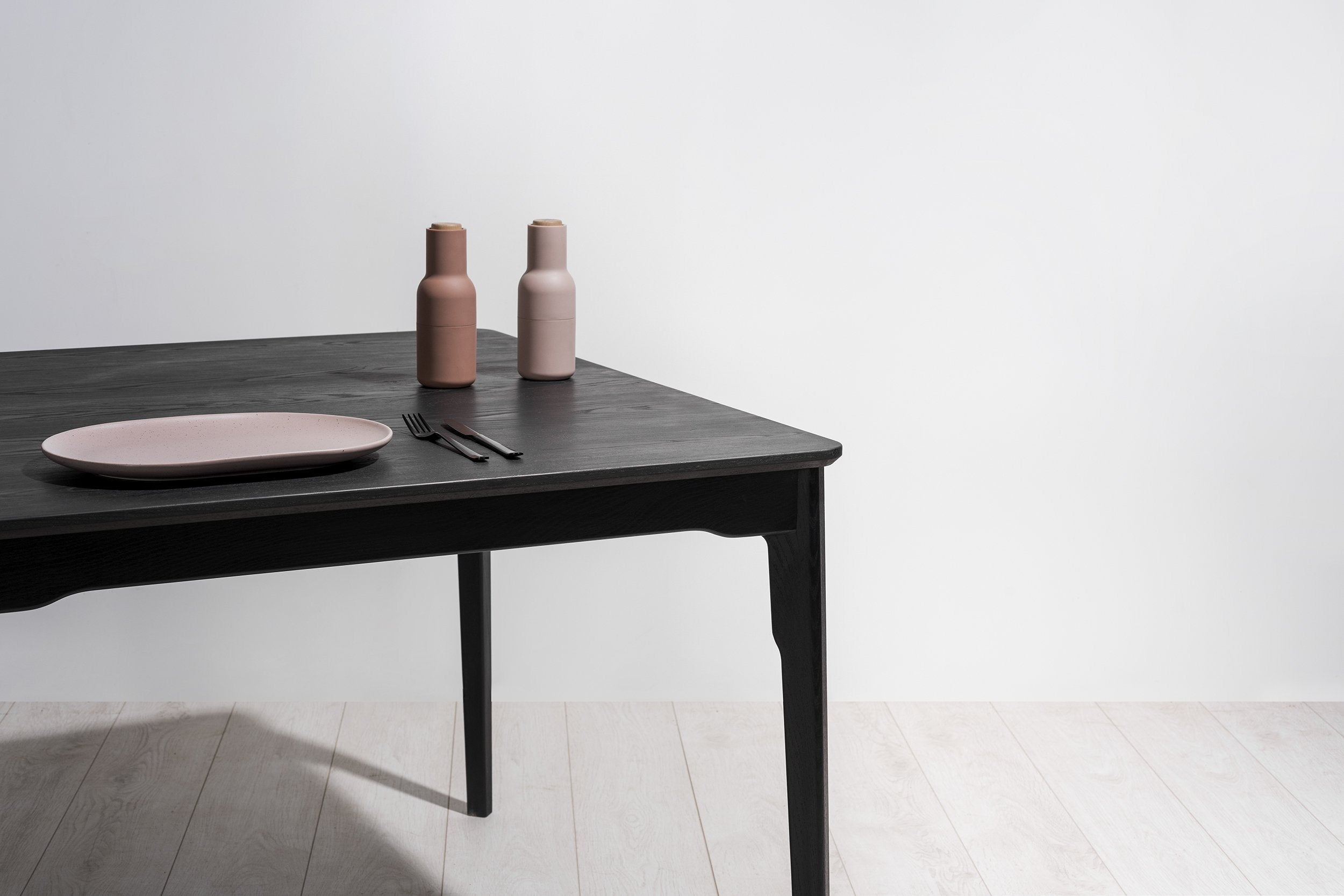 Klip Dining Table Timber Top - Esque