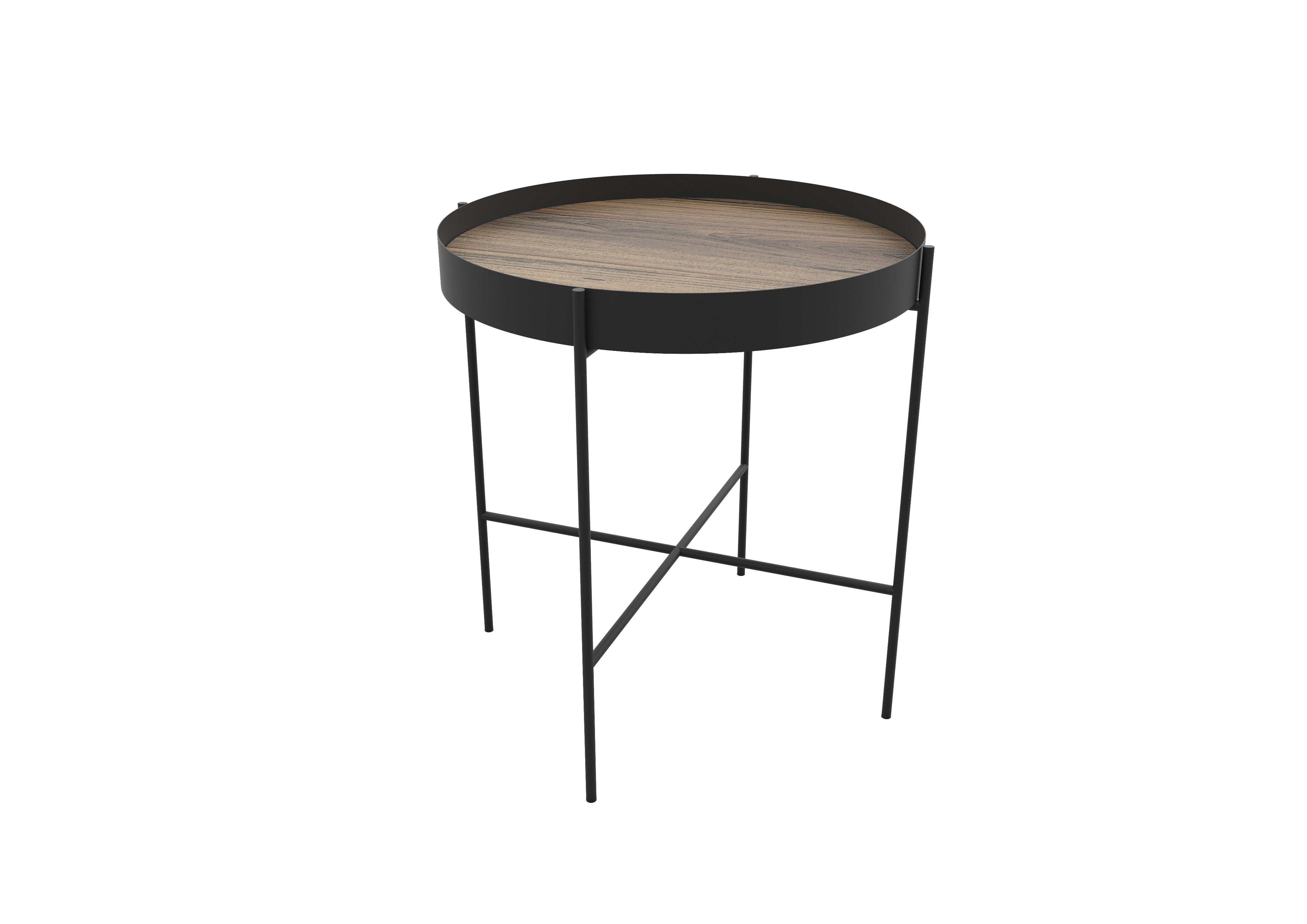 Kwazi Side Table with Tray