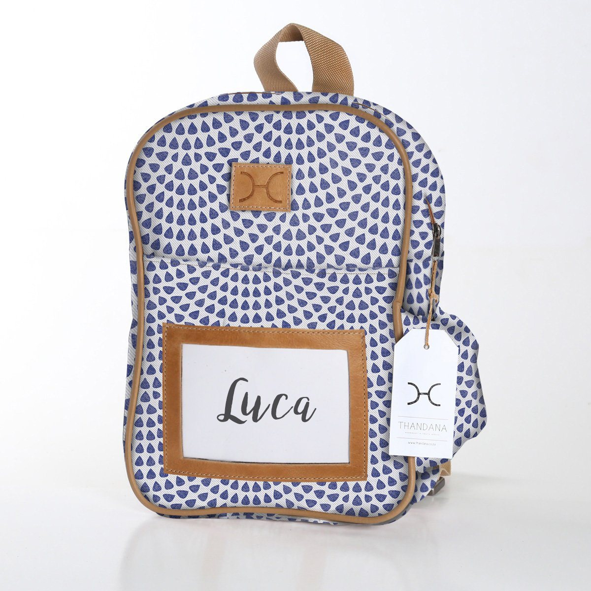 Kids Backpack - Laminated Fabric