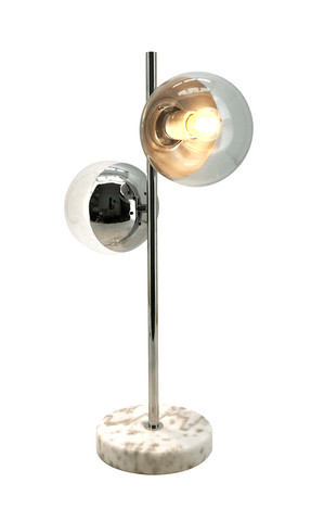 Matte Nickel Desk Lamp