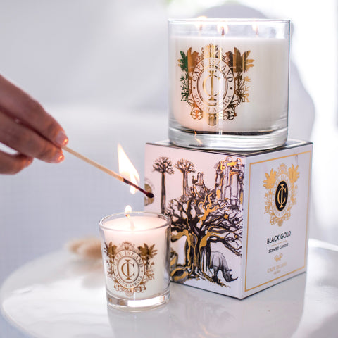 Black Gold Candles
