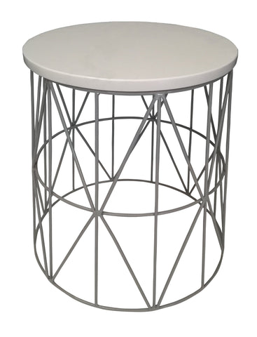 Pythag Side Table Grey