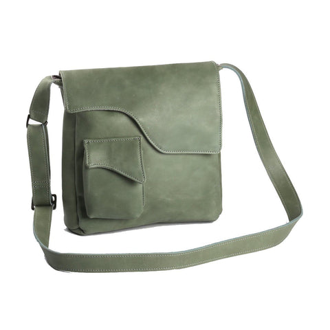 Tablet Sling Bag Leather