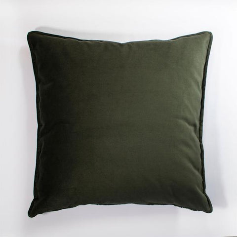 Anastasia Pather Charcoal Velvet Scatter Cushion