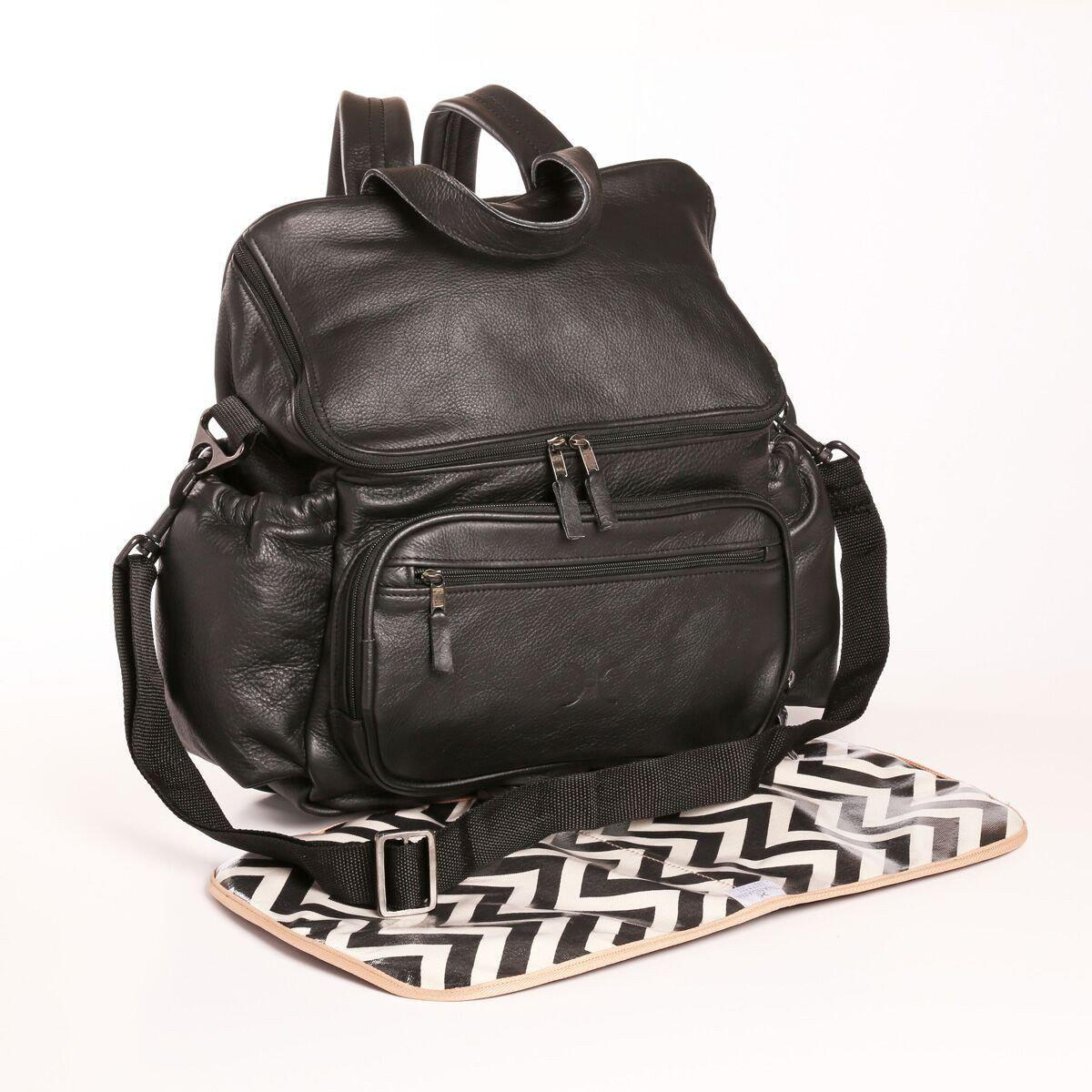 Nappy Backpack Bag - Leather - Esque