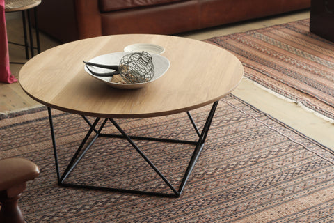 Oak Geo Coffee Table - Esque