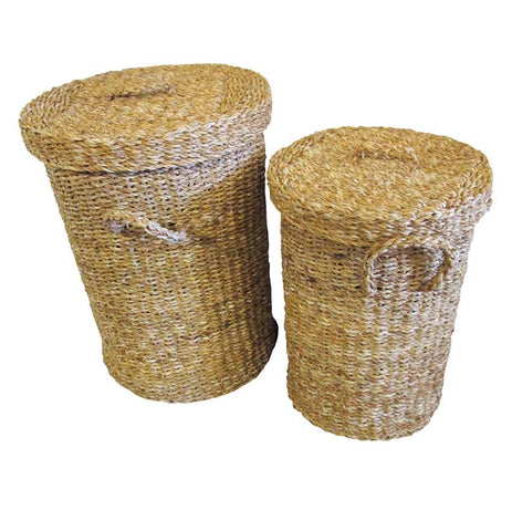 Round Laundry Set Of 2