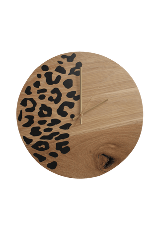 Wild Side Oak Clock - Esque