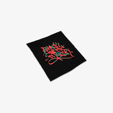 "Load image into Gallery viewer, José Parlá for Wide Awakes ""Black Lives Matter"" Bandana - Black"