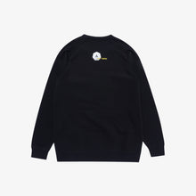 Load image into Gallery viewer, FL Alchemist Art Café Crewneck Sweater - Black
