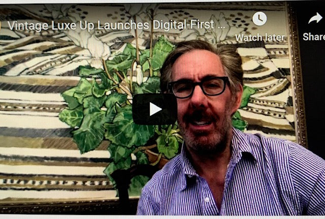 Vintage Luxe Up CEO & Founder, David Altman, Launches Digital-First Brand