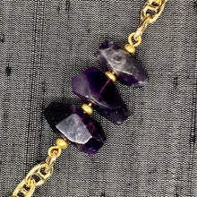 Load image into Gallery viewer, Healing Links™ Amethyst Mask Chain exclusively at VintageLuxeUp.com
