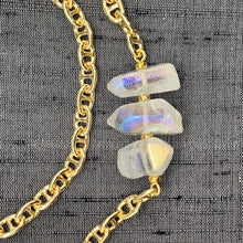 Load image into Gallery viewer, Healing Links™ Clear Quartz Mask Chain exclusively at VintageLuxeUp.com