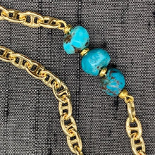 Load image into Gallery viewer, Healing Links™ Turquoise Mask Chain exclusively at VintageLuxeUp.com