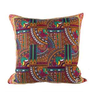 "Authentic KENZO Vintage Tile Pillow Cover 18"" exclusively at VintageLuxeUp.com"