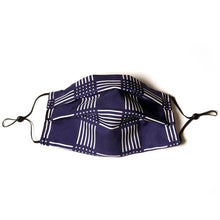 Load image into Gallery viewer, Authentic LORO PIANA Vintage Check Silk Scarf Face Mask exclusively at VintageLuxeUp.com