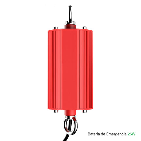 [luminarias_LED_lampara] - Besser Lighting - Batería de Emergencia