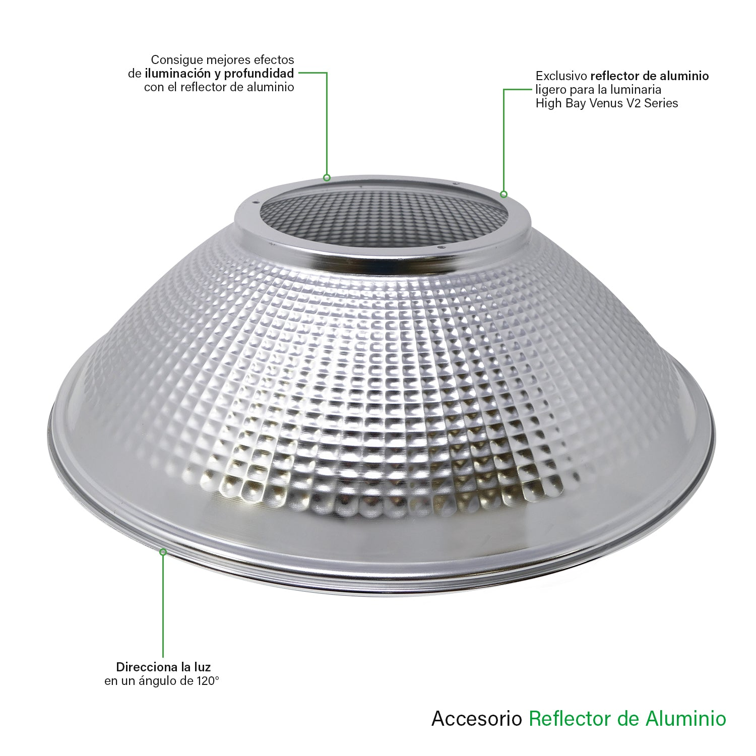 Reflector de Aluminio - Besser Lighting