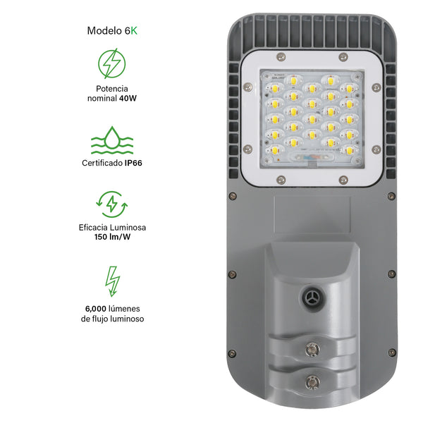 [luminarias_LED_lampara] - Besser Lighting - Luminaria LED Roadway V2 Series