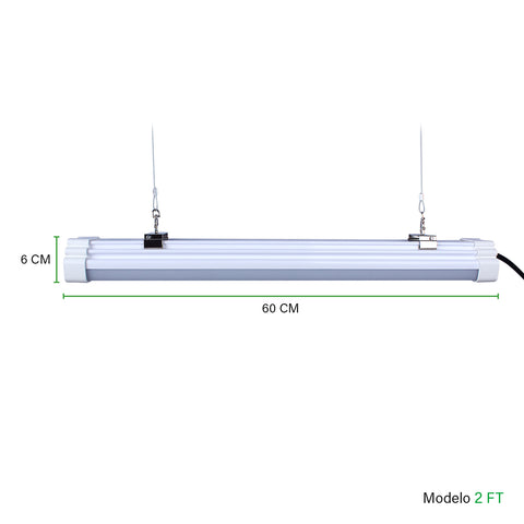 Luminaria lineal LED Tri-Proof Series - Besser Lighting