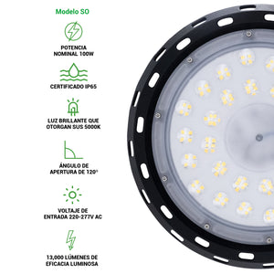 Luminaria LED Mercury Series - Besser Lighting