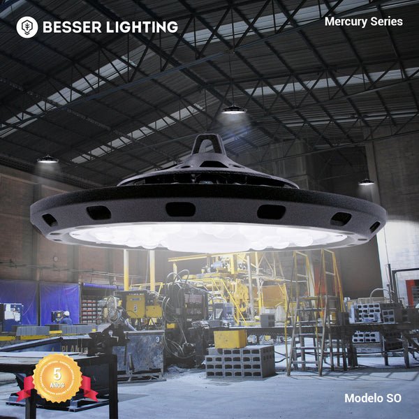 [luminarias_LED_lampara] - Besser Lighting - Luminaria LED Mercury Series