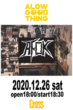 "Load image into Gallery viewer, AFOK presents ""a low, good thing vol.4"" AFOKワンマン"