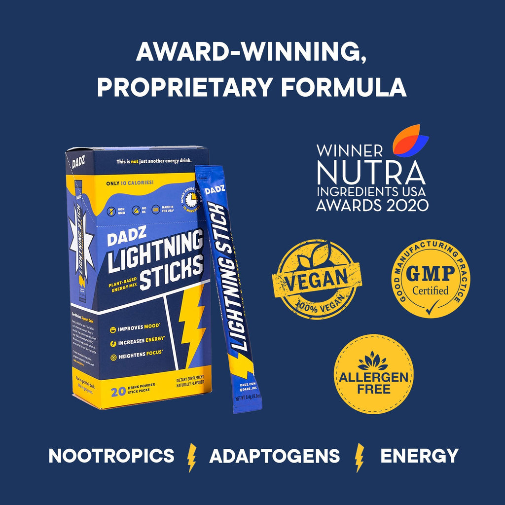 Lightning Sticks Vegan Nootropics - DADZ