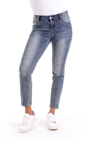 Blue Monkey Sandy Skinny Cropped Jeans Used