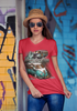 Skinner Classics Original Ladies V Neck - Front Print
