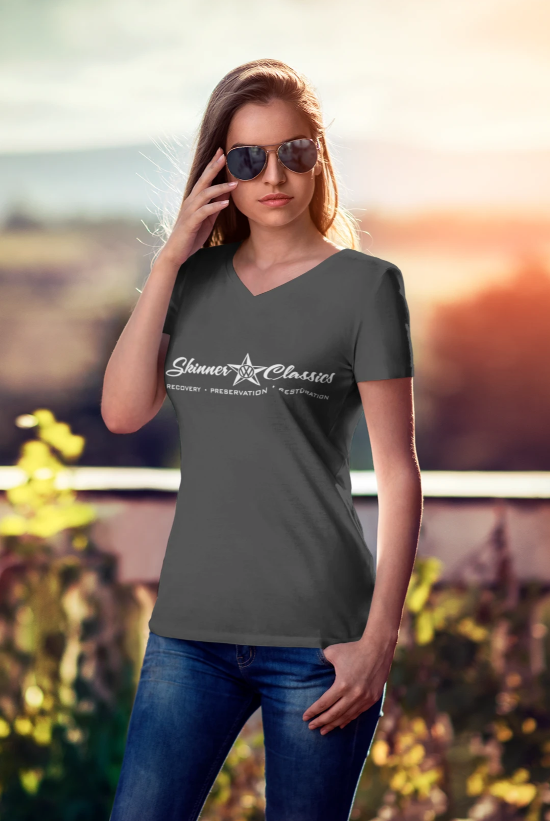 Skinner Classics Original Ladies V Neck