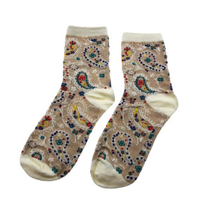 Jeseca 1 Pair Cotton Socks for Women