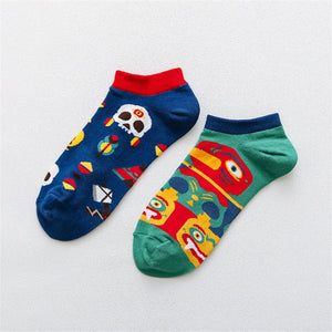 Creative Funny Socks Low Cut Ankle Sock