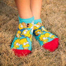 Load image into Gallery viewer, The Simpsons Cute Cotton Socks
