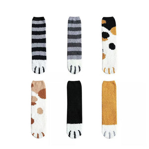 Fashion Cute Cats Claws Socks