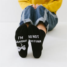 Load image into Gallery viewer, Women Men Wine Socks Letter Printed IF YOU CAN READ THIS Compression Sock Stylish Unisex Funny Socks Amozae Couple Meias