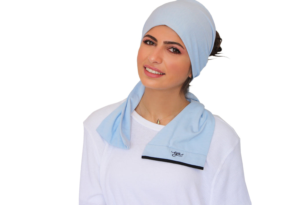 Breathable Under-scarf Blue